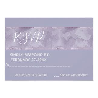 Cartão Listra chique minimalista RSPV da aguarela da
