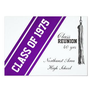 Cartão Listra do time do colégio com reunião de classe