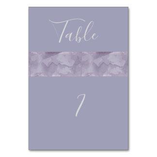 Cartão Listra moderna minimalista da aguarela da lavanda