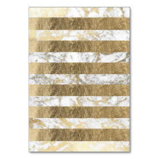 Cartão Listras brancas à moda elegantes do mármore do