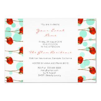 Cartão Listras delicadas brancas dos confetes florais da