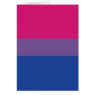 Cartão Listras do design | da bandeira do orgulho do