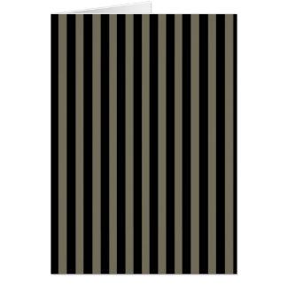 Cartão Listras escuras