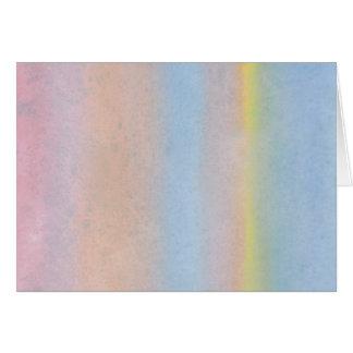 Cartão Listras Pastel