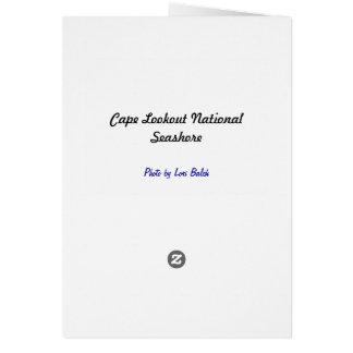Cartão Litoral do nacional da vigia do cabo
