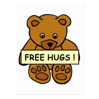 Cartão livre dos abraços