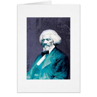 Cartão LLC-Frederick Douglass Portrait_SKU do depósito