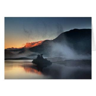 Cartão Llynnau Cregennen, Wales