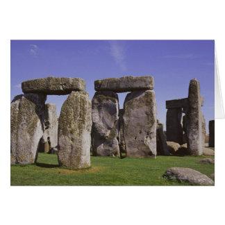 Cartão Local archaeological de Stonehenge, Londres,
