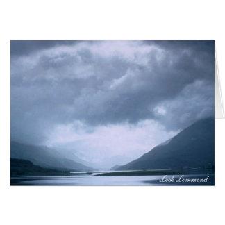 Cartão Loch Lommond
