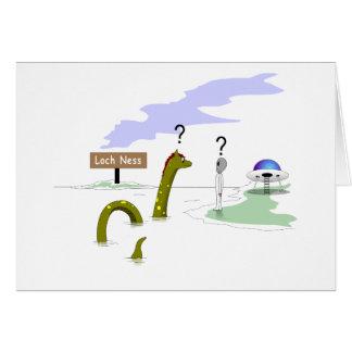 Cartão Loch Ness