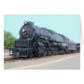 Cartão Locomotiva 2124 da estrada de ferro da leitura de