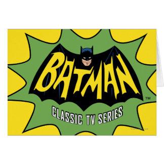Cartão Logotipo clássico da série de televisão de Batman
