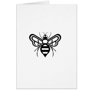 Cartão Logotipo da abelha dos acres de Riley