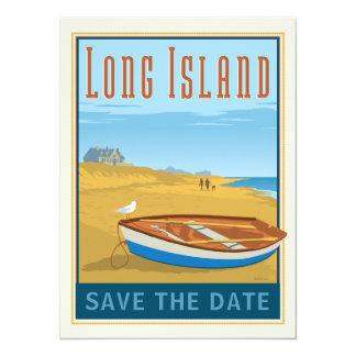Cartão Long Island, economias de New York | a data - foto