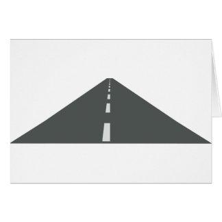 Cartão Longo caminho
