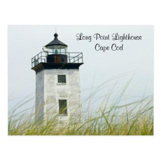 Cartão longo de Provincetown Cape Cod da luz do