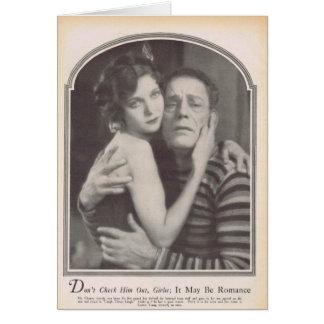 Cartão Loretta Young Lon Chaney 1928
