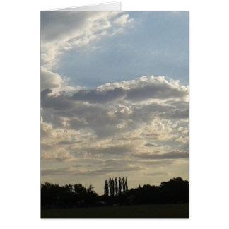 Cartão Lotes das nuvens