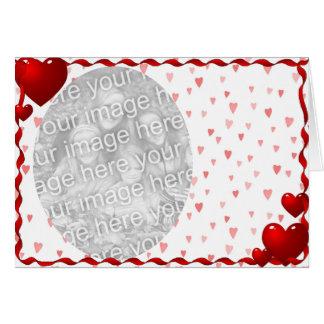 Cartão Lotes dos corações