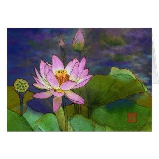 Cartão Lotus