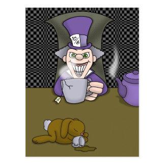 Cartão louco do Hatter