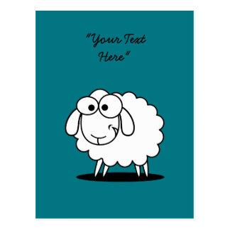 Cartão louco dos carneiros