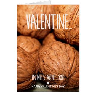 Cartão Loucos sobre você dia dos namorados