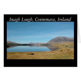 Cartão Lough de Inagh, Connemara
