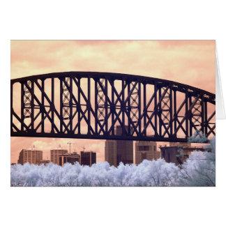 Cartão Louisville infravermelho KY