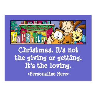 Cartão Loving dos feriados de Garfield Logobox