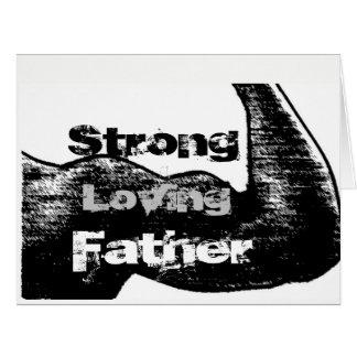 Cartão Loving forte do pai