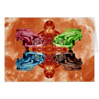 Cartão Lua de Oldsmobile