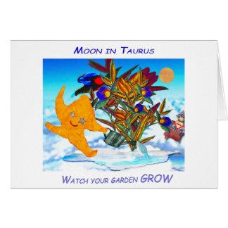 Cartão Lua do Taurus