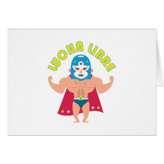 Cartão Lucha Libre