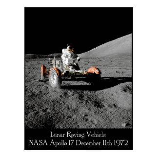 Cartão lunar do veículo de Apollo 17