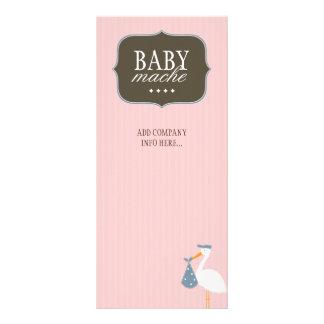 Cartão lunático da cremalheira do boutique do bebê