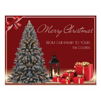 Cartão luxuoso do Natal