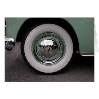 Cartão Luz - Chevy verde