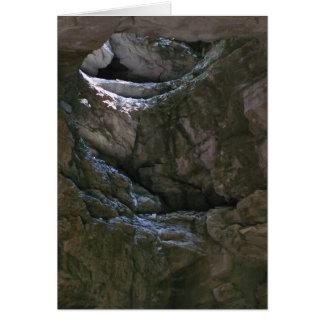 Cartão Luz da caverna