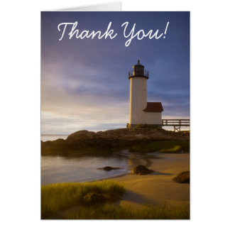 Cartão Luz de Annisquam, obrigado!