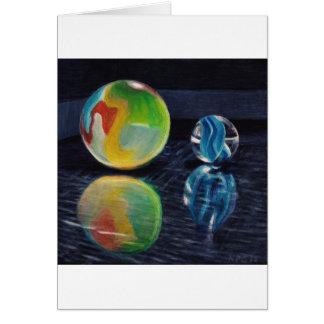 Cartão Luz de mármore