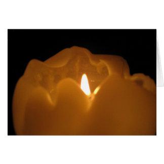 Cartão Luz de vela