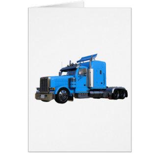 Cartão Luz - do azul caminhão semi na opinião dos três