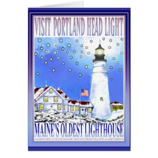 Cartão Luz principal #2 de Portland   por Brigid O'Neill