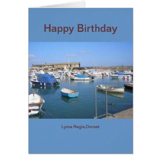 Cartão Lyme Regis, Dorset