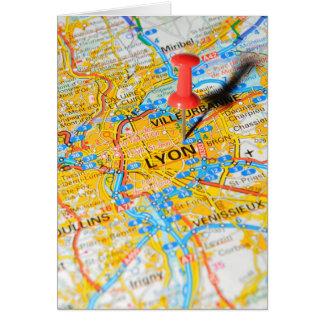 Cartão Lyon, France