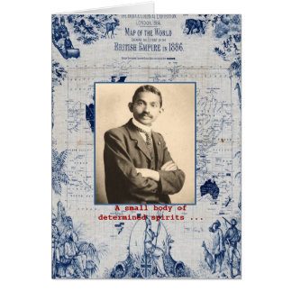 Cartão M. Gandhi