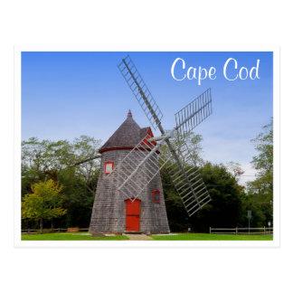 Cartão maciço do moinho de vento de Cape Cod