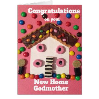 Cartão Madrinha da casa nova